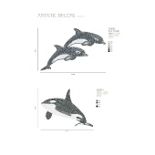 ARTISTIC DECORS TWINS DOLPHINS, JUDITH